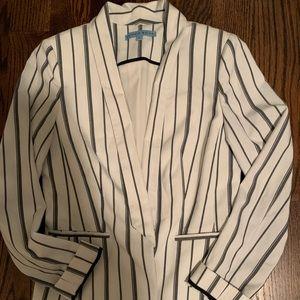 Antonio Melani Striped Linen Jacket